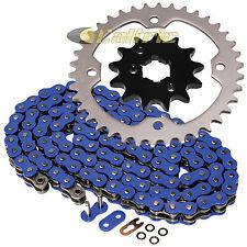 Blue O-Ring Drive Chain & Sprocket Kit Fits YAMAHA RAPTOR 350 YFM350 2004-2013