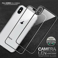 Hot Full Coverage Tempered Glass Screen Protector Cover Film For Apple iPhone X