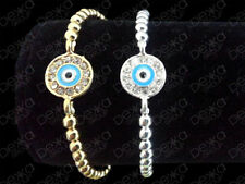 Crystal Enamel Silver Plated Fashion Bracelets