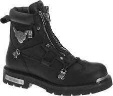 Harley Davidson Brake Light Black Mens Twin Zip Biker Ridding BOOTS 10