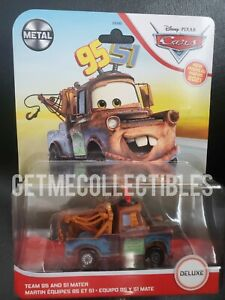 DISNEY CARS  TEAM 95 and 51 MATER DELUXE 2021 SAVE 6% GMC