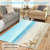 Beach Modern Area Floor Rug Carpets For Bedroom Living Room Mat Home Decoration