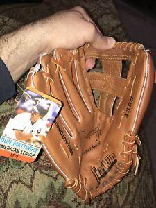 Vintage FRANKLIN DON MATTINGLY Childs Baseball Glove 4352 Youth Left Signature