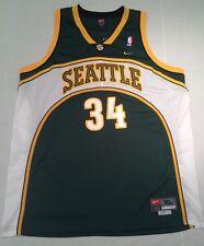 Nike Swingman Ray Allen Seattle Supersonics Nba Basketball Jersey Size XL d77b2e763