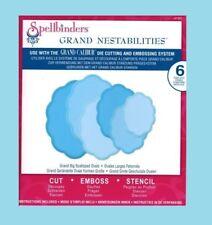 Spellbinders LF-251 Stanz- & Prägeschablone Grand Big Scalloped Ovals