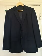 "REISS GEORGE B Navy Slim Fit Jacket 38"" Used VGC RRP £245"