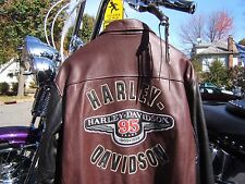 HARLEY DAVIDSON LEATHER JACKET 95th ANNIVERSARY FATBOY ROADKING SPRINGER DYNA