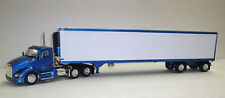 Kenworth T680 day cab with 53' Spread axle Reefer van   Color:  Blue