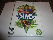 Sims 3  (Wii, 2010) NEW