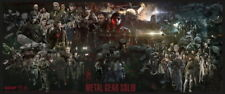 "043 Metal Gear Solid - Snake Rising v the Phantom Pain Game 33""x14"" Poster"