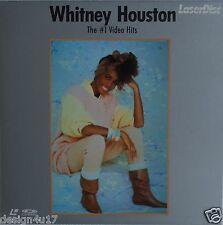 "WHITNEY HOUSTON 8"" Laserdisc  The #1 Music Video Hits JAPAN LD"