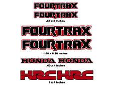 Decals for Honda Fourtrax Quads  Trx250r Trx450r Trx400 400ex 300ex 250x Trx90