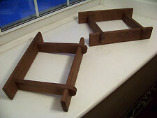 Pair of Solid Walnut Speaker Stands made for Klipsch Heresy I & II Speakers