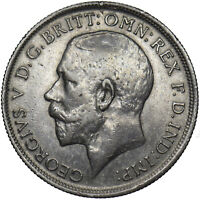 1918 FLORIN - GEORGE V BRITISH SILVER COIN - NICE