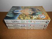 Genkaku Picasso Vol. 1 2 3 Manga Graphic Novel Book Complete Lot in English