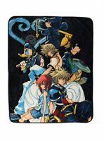 Disney Kingdom Hearts kingdomhearts PLUSH SOFT blanket NEW nice