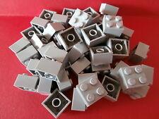 + + LEGO STAR WARS 50 GRIGIO i blocchi predefiniti 2x2 scanalata NUOVO + +