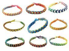 Wholesale Joblot Of 200 Waxed Cotton Friendship Cobra Knot Wrap Bracelets