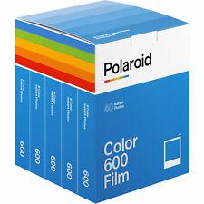 Polaroid 600 Format Colour Film - 5 Film Bulk Pack (40 photos) - BRAND NEW!