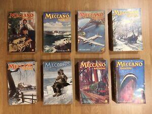 Meccano Modell Zeitschriften 8 Jahre Sammlung 93 Bücher Von 1948-1954 IN