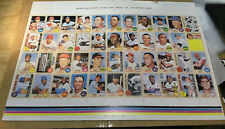 1968 Topps Nolan Ryan RC rookie #177 PROOF REPRINT SHEET LE/1000
