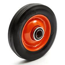 "6"" Hand Sack Truck Trolley Tyre Wheel Barrow Solid Rubber Industrial Tire 200kg"