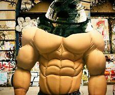 muscle costume juggernaut, bodybuilder, rembo, x man, avengers, bane, hulk, wwe