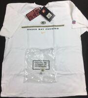 VTG 90's Nike Green Bay Packers NFL Players Sideline T-Shirt Men's SZ XL NWT'S