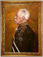 Ölbild Friedrich Krüger,Anton von Werner Ölgemälde HANDGEMALT,Gemälde 50x70cm