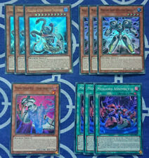 Astro //Emperor //Army //Deflection //Chaos YUGIOH Meklord Starter Deck Set NM