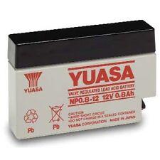 NP0.8-12 Yuasa Lead Acid Rechargeable Battery 12V 0.8Ah