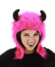Elope - Minotaur Hoodie Hat - Pink-  FREE US SHIPPING