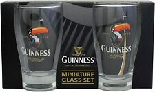 Guinness Set of 2 x Miniature Beer Glass  (sg)