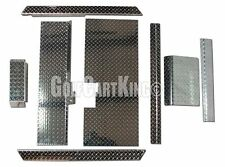 Club Car Golf Cart ALL AMERICAN™ Diamond Plate Accessory Kit w/ Floor