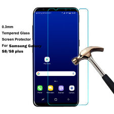 New Tempered Glass Screen Protector Film Guard For Samsung Galaxy S8/S8 plus US