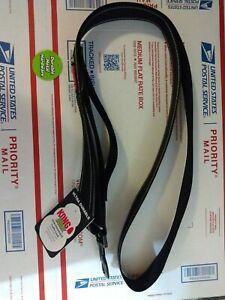 KONG MAX  Traffic Leash BLACK Strongest Chew Resistant 6'