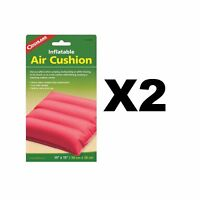 Coghlan's Inflatable Air Cushion Fabric Coated Vinyl Pad Assorted Colors(2-Pack)