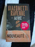 LA SAGA SOLEIL NOIR tome 2 la NUIT DU MAL Giacometti Ravenne roman thriller neuf