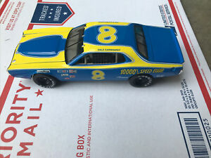 Dale Earnhardt, Sr #8 10,000 RPM 1/24 Action 1975 Dodge Charger LE 1st CUP Ride!