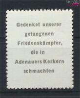 DDR Adenauermarke (kompl.Ausg.) mit Wasserzeichen 2 Y I postfrisch 1953(9119720