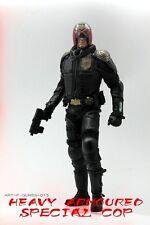 Heavy Armored Special Cop 1/6 Scale Figure Art Figures AF-015 Judge Dredd Black