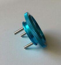 1/8 RC Nitro Flywheel Blue Alloy 34mm 3 Pin