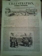 L'illustration n°423 5 avr 1851 trouble fribourg école angleterre caserne gravil