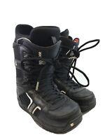 Burton Men's Black Imprint Invader Lace Up Snow Boarding Boots Sz 8