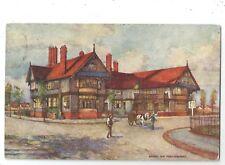 vb england Lancashire postcard the bridge inn Port Sunlight model village