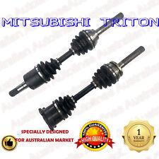 1 Pair Mitsubishi Triton MK 3L V6 Brand New CV Joint Drive Shafts 6/96-8/06