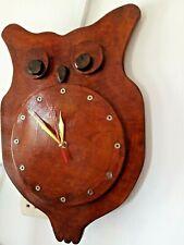 Ceylon Wooden Wall Clock Simple Modern Design Silent Hanging Watch Home Decor