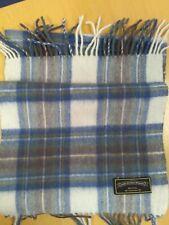 James Pringle Weavers Tartan 100% Wool Fringed Rectangle Scarf