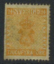 SWEDEN, Scott 10 Mint  - Was attached/stuck to 1862 Lallier Album