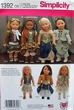 New Pattern 1392 Doll Clothes Victorian Era Steampunk fit 18 inch American Girl